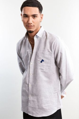 chemise-blanche-homme-brun